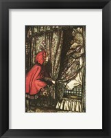Framed Little Red Riding Hood