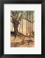 Framed Little Red Riding Hood II