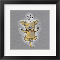 Framed Enlightened Chihuahua