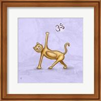 Framed Yoga Cat II