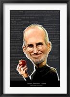 Framed Steve Jobs - Creator, Innovator, Legend