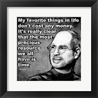 Framed Steve Jobs Quote I