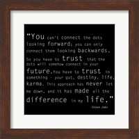 Framed Trust Quote