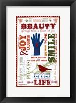 Framed Beauty Love