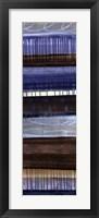Framed Blue Moon Panel II