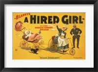 Framed Hired Girl