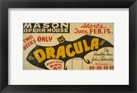 Framed Dracula