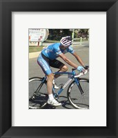 Framed Erik Zabel Tour de France 2008