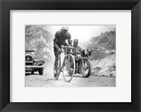 Framed Federico Ezquerra  Tour de France 1934