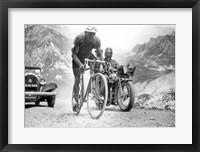 Framed Federico Ezquerra  Tour de France 1934