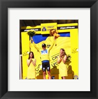 Framed Lance Armstrong - Tour de France 2003