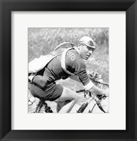 Framed Lucien Buysse in de Tour de France 1926
