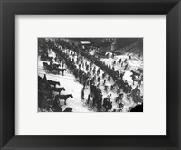 Framed Tour de France 1906