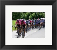 Tour de France 2005 Framed Print