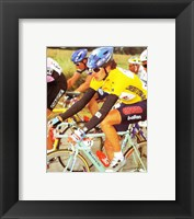 Framed Yvan Gotti  Tour de France 1995
