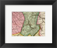 Framed Pinkerton 1812 Paraguay