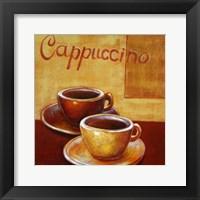 Framed Cappuccino Mugs