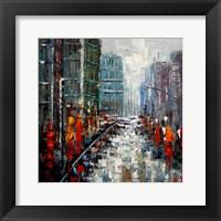 Framed City Landscape