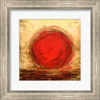 Framed Red Sun