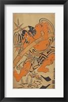 Framed Bamboo Samurai