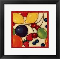 Framed Fruit Medley I