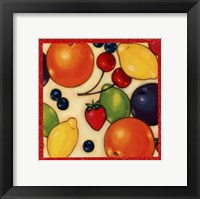 Framed Fruit Medley II