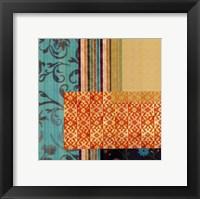 Framed Marmalade III