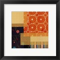Framed Marmalade IV
