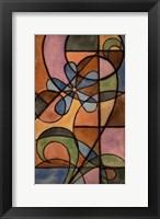 Craftsman Flower I Framed Print