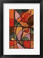 Framed Craftsman Flower II
