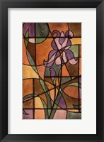 Framed Craftsman Flower III