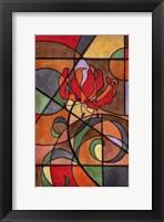 Craftsman Flower IV Framed Print