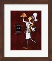 Framed Miss Pasta