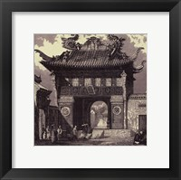 Imperial Architecture I Framed Print