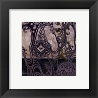 Framed Small Medallions & Damask IV
