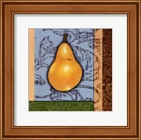 Framed Fruit Tapestry III