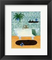 Framed Bath Tranquility I