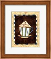 Framed Mocha Lattee I