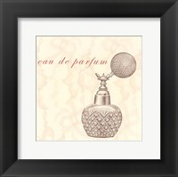 Framed La Toilette I