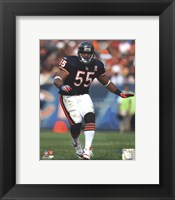 Framed Lance Briggs 2011 Action