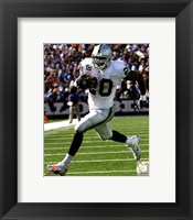 Framed Darren McFadden 2011 Action