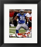 Framed Ndamukong Suh 2011 Action