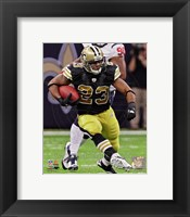 Framed Pierre Thomas 2011 Action