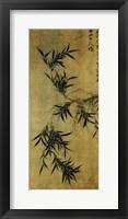Framed Gu An Ink Bamboo
