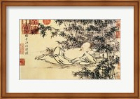Framed Xuande Bamboo