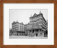 Framed Grand Atlantic Hotel, Atlantic City, NJ