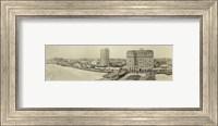 Framed Atlantic City Beach and Boardwalk