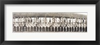Miss America Pageant September, 1953 Conventonal Hall, Atlantic City, NJ Framed Print