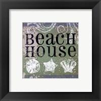 Beach Signs I Framed Print