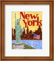 Framed New York (A)